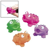 6.4cm Assorted Frog Squirt Toys