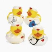 Lot of (12) Nurse ~ Rubber Ducks ~ Party Favours / Scrubs Doctors