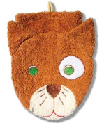 Washcloth Hand Puppet Cat By Furnis Small