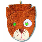 Washcloth Hand Puppet Cat By Furnis Large