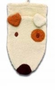 Washcloth Hand Puppet Dog By Furnis Small