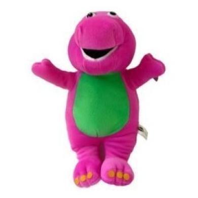 Barney Plush 15cm