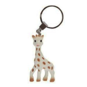Vulli Sophie Giraffe So Pure Sophie the Giraffe Teething Ring Key Chain - Set of 2
