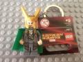 LEGO Loki Key Chain 850507 Marvel Super Heroes Mini Figure Keychain