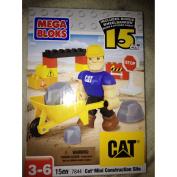 Mega Bloks Cat Mini Construction Site 7844 15 Pcs