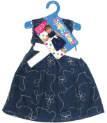 Fibre Craft 157323 Springfield Collection Party Dress-Navy