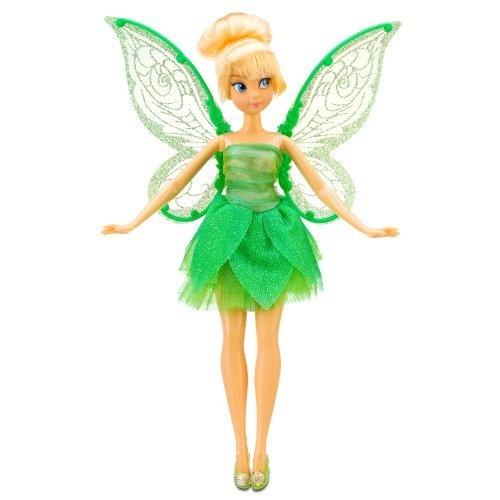 Fluttering Disney Fairies Tinker Bell Doll -- 10''