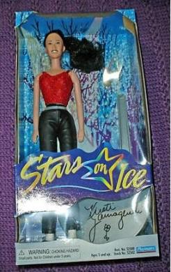 Kristi Yamaguchi Stars on Ice Doll Barbie New Skater