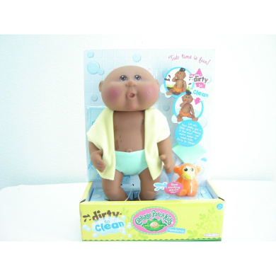 Cabbage Patch Kids Newborns Dirty to Clean-African American Boy