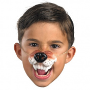 Wolf Nose with Elastic Halloween Accessory