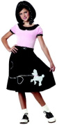 Hop Top with Poodle Skirt Child Costume