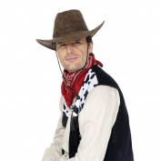 Smiffy'S Cowboy Hat Suede Look