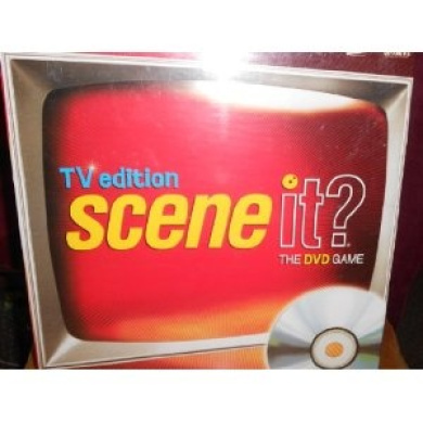 Scene It TV Edition The DVD Game