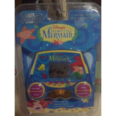 Disney's The Little Mermaid Electronic Handheld LCD Game