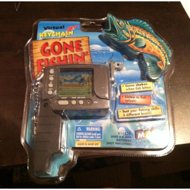 Gone Fishin' - Electronic Virtual Fishing Handheld Game