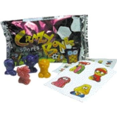 Crazy Bones Sports Foil Packs Case Pack 324
