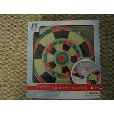 Spin Darts Rotating Dart Board