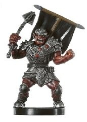 D & D Minis: Hobgoblin Talon of Tiamat # 36 - War of the Dragon Queen