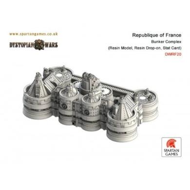 Dystopian Wars: Republique of France - Bunker Complex (1)