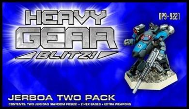 Heavy Gear Blitz: NuCoal - Jerboa Two Pack