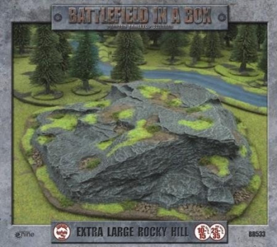 Flames of War: Battlefield in a Box - Extra Large Rocky Hill