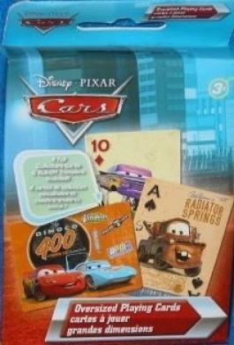 "Disney Pixar ""Cars"" Oversized Playing Cards"