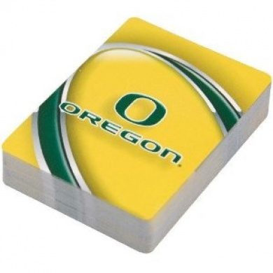 Oregon Ducks Playing Cards