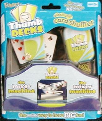 Thumb Decks the Mixer Machine Electronic Card Shuffler