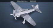 Metal Marvels Mitsubishi Zero Fighter Metal Works 3D Laser Cut Model