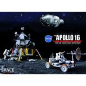 """Dragon Models 1/72 Apollo 16 """"Lunar Highlands Exploration"""" CSM and LM and Lunar Rover and Astronauts"""