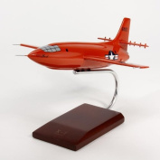 Bell X-1 Handcrafted Quality Desktop Aircraft Model Display / USAF Supersonic Experimental Rocket Aircraft / Unique and Perfect Collectible Gift Idea / Aviation Historical Replica Gift Toy