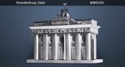 Fascinations MMS025 MetalEarth - Brandenburg Gate