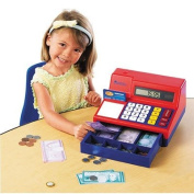Pretend & Play Calculator Cash Register with Canadian Currency