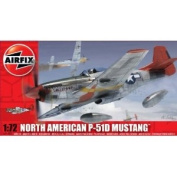Airfix A01004 North American P-51D Mustang 1:72 Scale Series 1 Plastic Model Kit