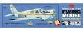 Guillows Piper Cherokee 140 balsa model kit