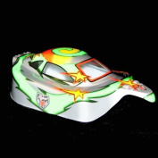 Redcat Racing 10715 .10 Buggy Body Green and Silver