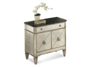 One Size Bassett Mirror Company Borghese Small Accent Drawer/Door Chest