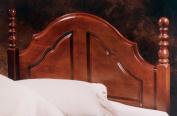 Hillsdale Furniture 200HTWR Cheryl Headboard with Rails, Twin, Cherry