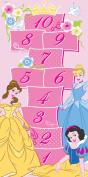 Disney Princess Childrens 'Royale Hopscotch' Bedroom Rug . x 0m 15cm x . x 0m 7.6cm