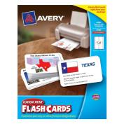 Custom Print Flash Card
