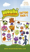 Official Moshi Monsters Temporary Tattoos - Pack 2