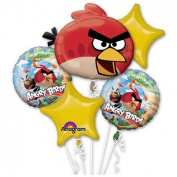 Angry Birds Balloon Bouquet
