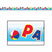 Beach Ball Party Tape Party Accessory (1 count)