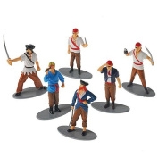 Pirate Toy Figures, Set of 12