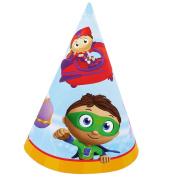 Party Destination Super Why! Cone Hats