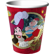 Hallmark Disney Jake and the Never Land Pirates 270ml Paper Cups