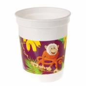 Plastic Monkey Cups 12 Count
