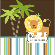 Luncheon Napkins - King of the Jungle