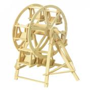 Como Children Puzzled Ferris Wheel Model 3D Wood Puzzle Toy Gift