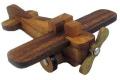 Aeroplane Kumiki 3D Brain Teaser Wooden Puzzle